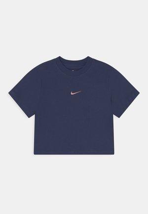 BOXY TEE - T-shirt basic - midnight navy/pink glaze