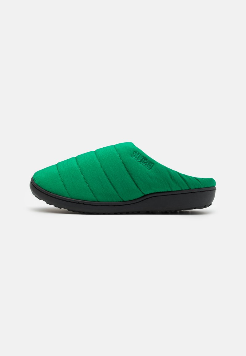 SUBU - SUBU SLIP ON - Klapki - artificial green
