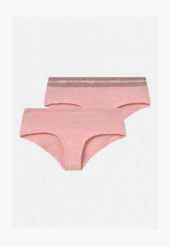 GAMILIA HIPSTER 2 PACK  - Briefs - pastel pink