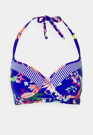 REEF HALTER LIGHTLY PADDED UNDERWIRED - Bikini top - multi