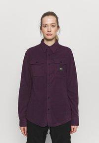 Rojo - MAIN STREET - Button-down blouse - blackberry wine - 0
