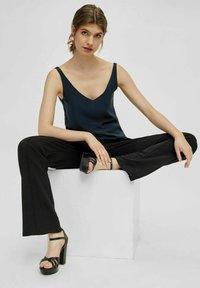 Bianco - BIACARLY - High heeled sandals - black - 1