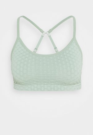 WORKOUT YOGA CROP - Sujetador deportivo - mint