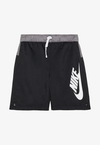 Nike Sportswear - Shorts - black/gunsmoke/white - 1