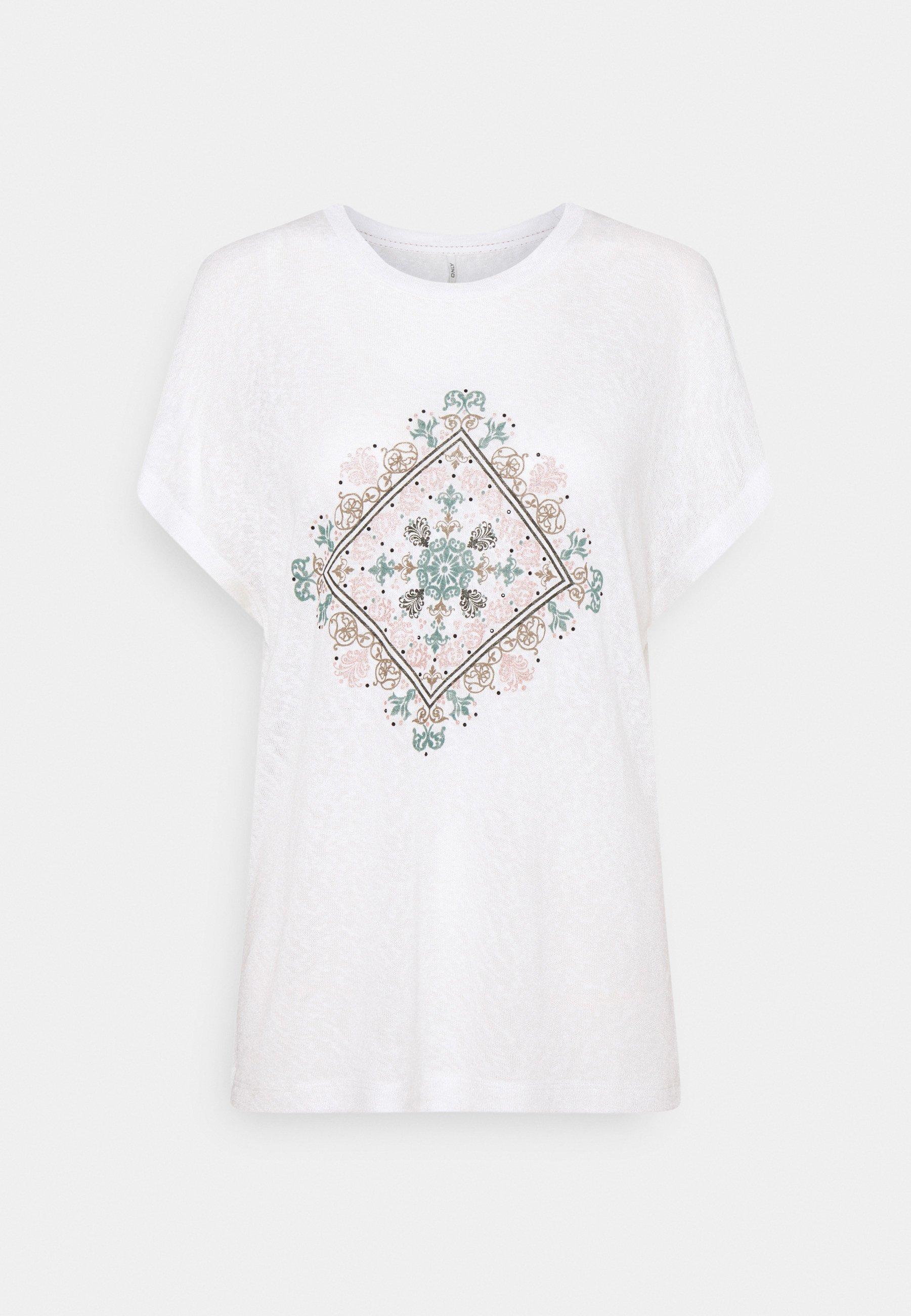 Women ONLPIPER - Print T-shirt