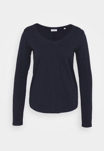 LONGSLEEV V-NECK - Long sleeved top - scandinavian blue