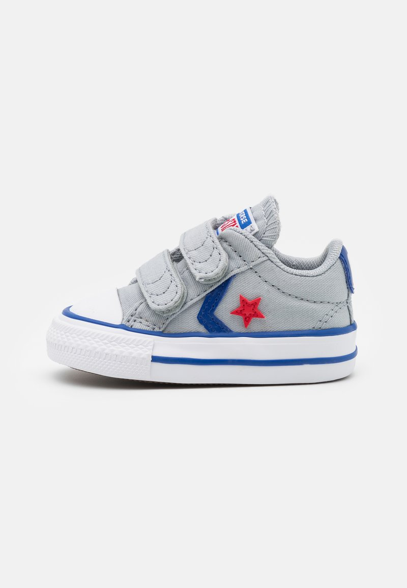 Converse - STAR PLAYER UNISEX - Sneakers laag - wolf grey/blue/enamel red