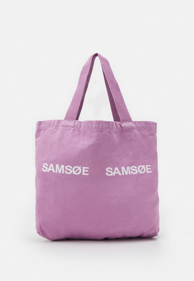 Samsøe Samsøe - FRINKA - Tote bag - purple jasper