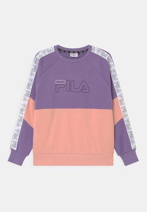 JUWEL TAPED CREW - Sweater - purple haze/calypso coral