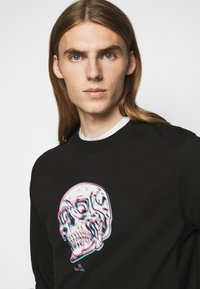 PS Paul Smith - MENS REGULAR FIT SKULL - Sweatshirt - black/multi-coloured - 3