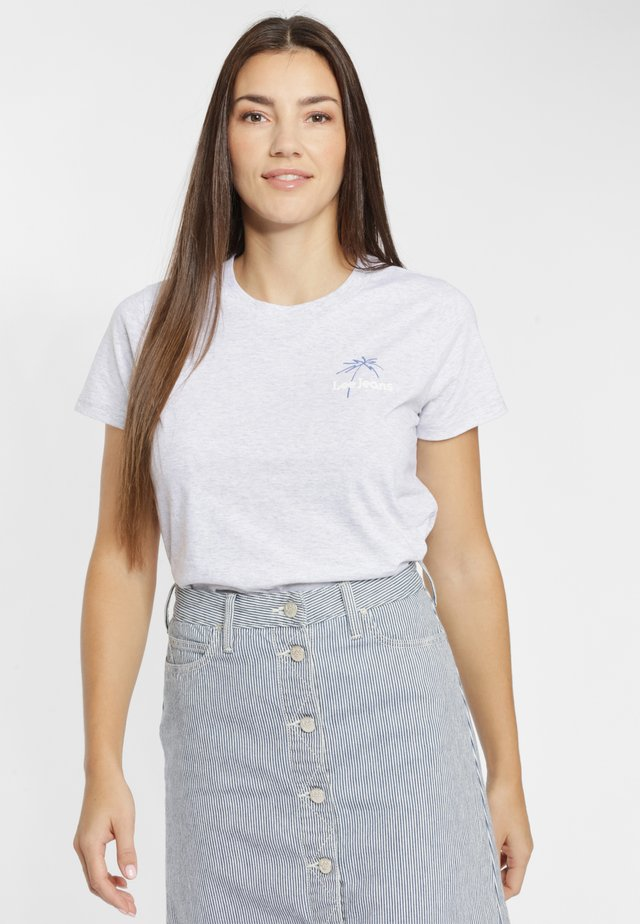 Basic T-shirt - sharp grey