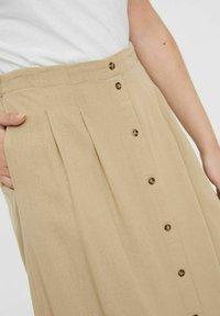 Vero Moda - Pleated skirt - beige - 3