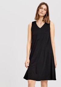 Opus - Day dress - black - 0