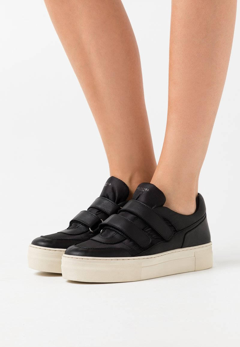 Selected Femme - SLFHAILEY TRAINER - Trainers - black