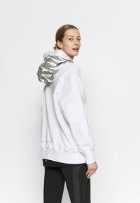 adidas by Stella McCartney - HOODY - Mikina na zip - white - 2