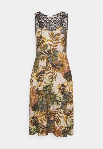 CRCINDY DRESS - Day dress - dull gold jungle