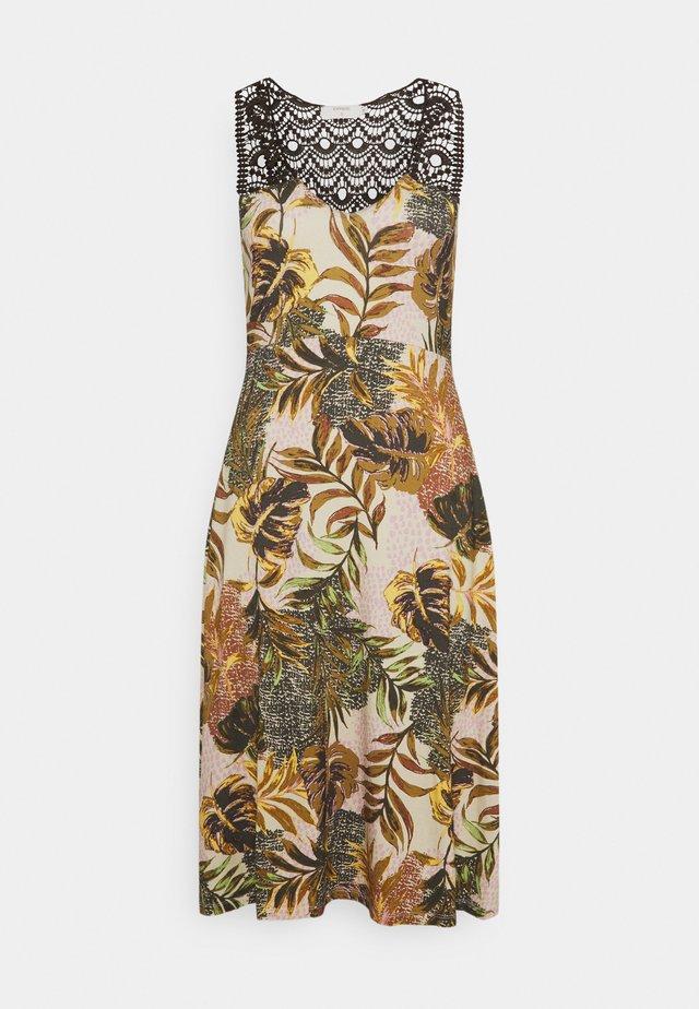CRCINDY DRESS - Korte jurk - dull gold jungle