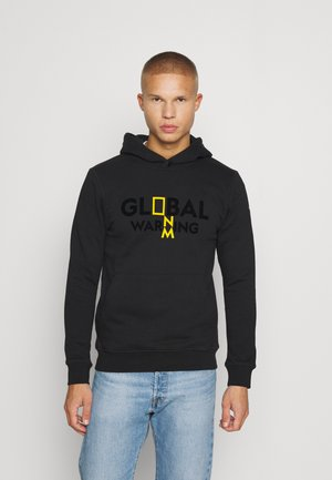 HOODY WITH NEW - Sweater - black