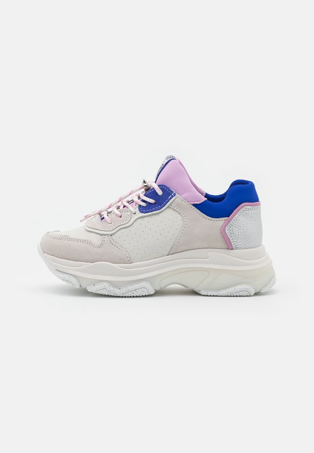 BAISLEY - Sneaker low - offwhite/lilac/cobalt