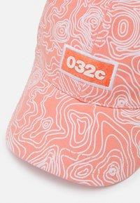 032c - TOPOS PRINT UNISEX - Cap - neon coral - 5