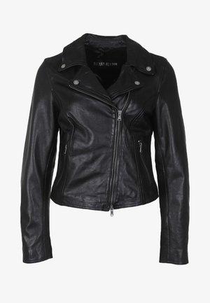 BALI - Kožená bunda - black