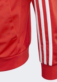 adidas Performance - 3-STREIFEN TEAM TRAININGSANZUG - Tracksuit - red - 7