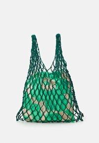 Marimekko - BARITA PIENI UNIKKO BAG - Tote bag - dark green/green/beige - 0