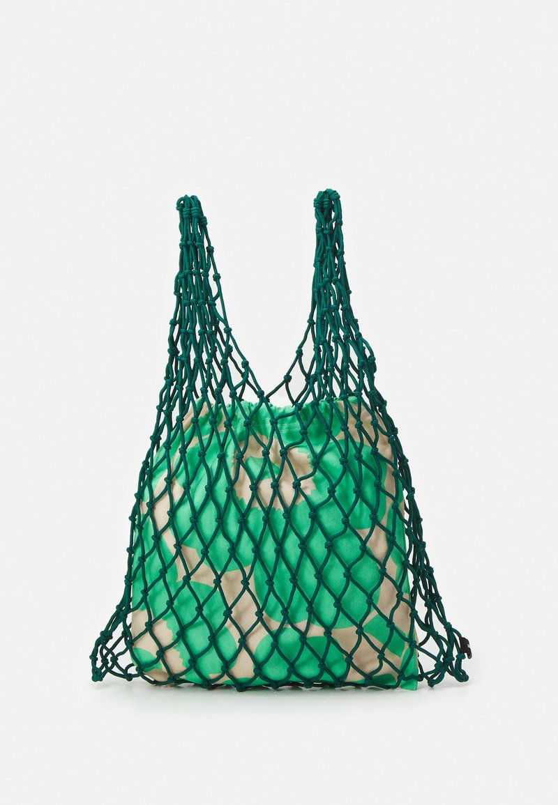 Marimekko - BARITA PIENI UNIKKO BAG - Tote bag - dark green/green/beige