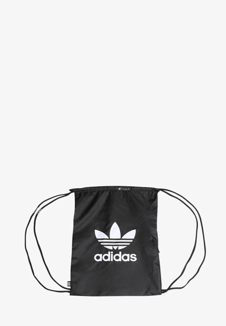 adidas Originals - GYMSACK TREFOIL ORIGINALS ACCESSORIES - Ryggsekk - black