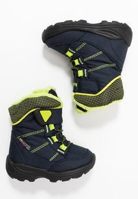 Kamik - STANCE - Winter boots - navy/lime/marine/citron - 0