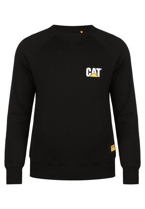 CATERPILLAR CAT SMALL LOGO ROUNDNECK SWEATSHIRT HERREN - Bluza - black