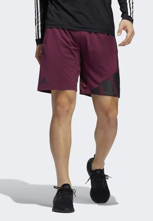 Sports shorts - red