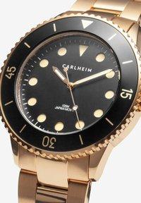 Carlheim - DIVER 40MM LINK - Montre - rose gold-black - 2