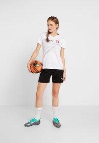 Puma - SCHWEIZ SFV AWAY JERSEY - Club wear - white/pomegranate - 1
