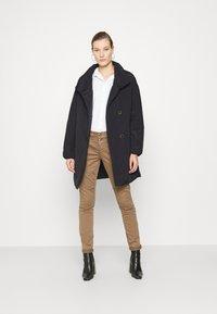 Mos Mosh - NELL PUFF COAT - Classic coat - black - 1