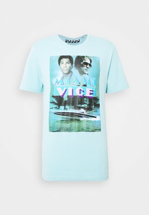 ONSMIAMIVICE SUMMER TEE - Print T-shirt - aquatic
