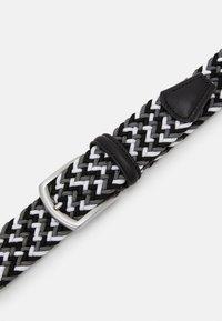 Anderson's - STRECH BELT UNISEX - Braided belt - grey - 4