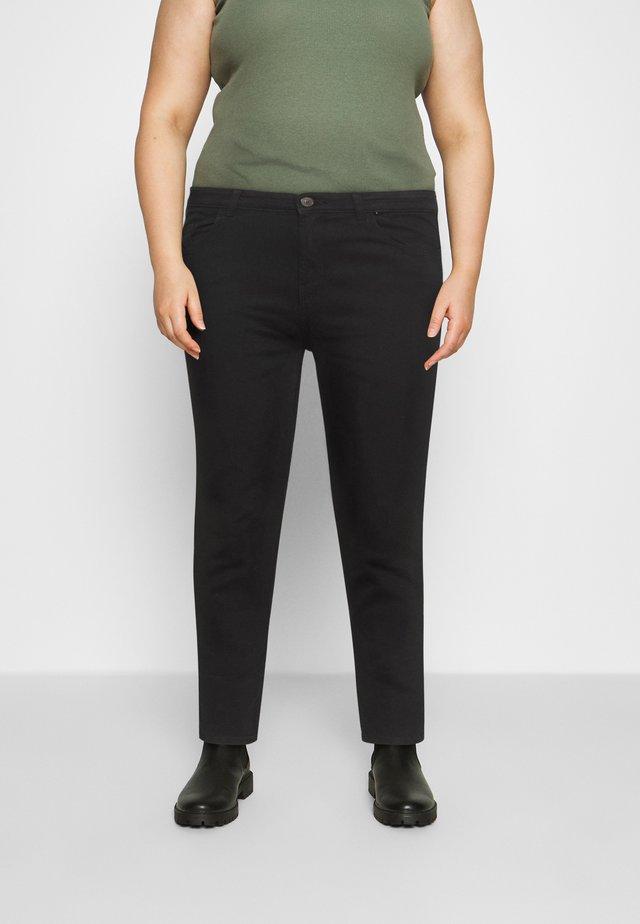 PCMIDFIVE - Skinny džíny - black