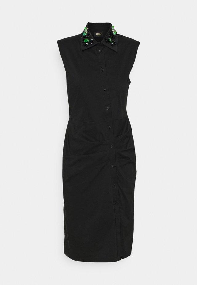 ABITO RICAMO - Košilové šaty - nero