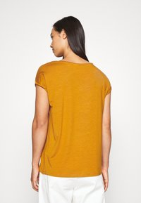 Vero Moda - VMAVA PLAIN - T-shirt basic - buckthorn brown - 2
