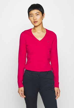 Strickpullover - ruby jewel