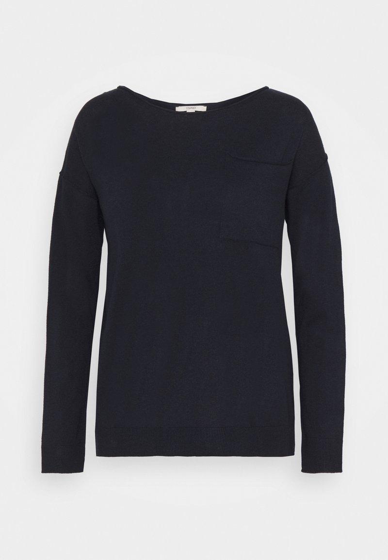 Esprit - Sweter - navy