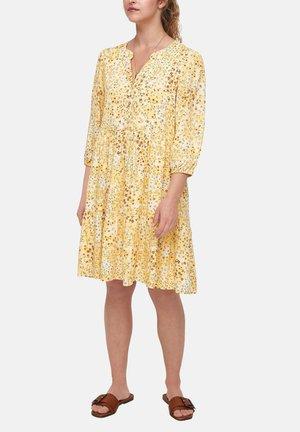 Korte jurk - sunlight yellow