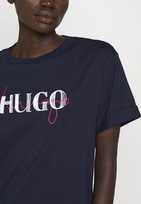 HUGO - NAILY - Maxi dress - dark blue - 4