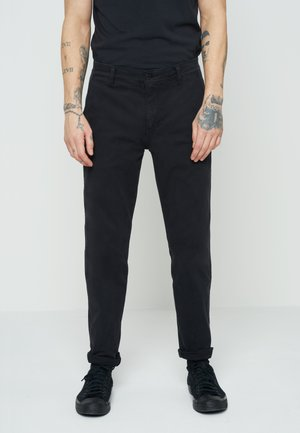 XX CHINO SLIM FIT II - Chinot - mineral black