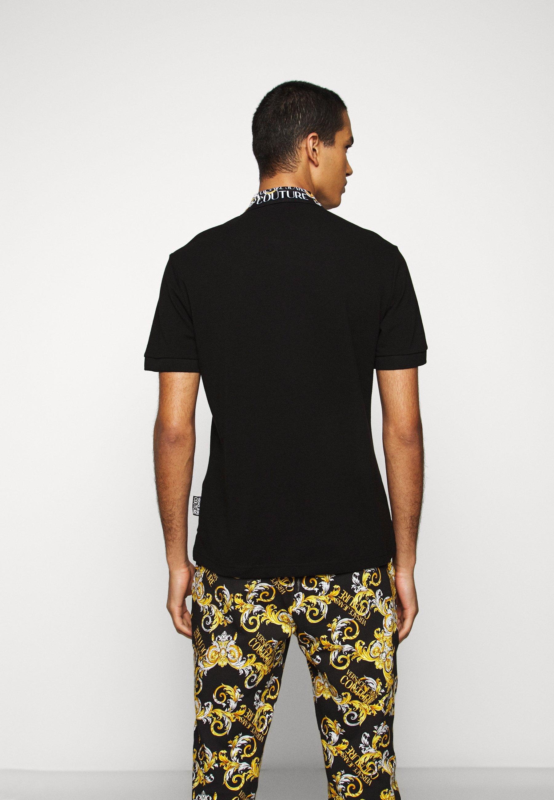 Versace Jeans Couture PLAIN - Polo - nero - Ropa de hombre