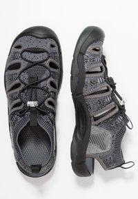 Keen - EVOFIT ONE - Chodecké sandály - heathered black/magnet - 1