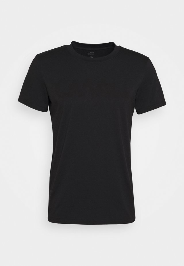 LOGO TEE - Basic T-shirt - black