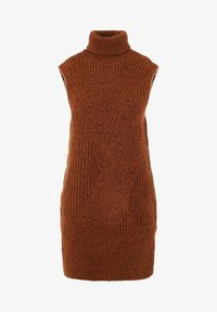 YAS - Jumper dress - mocha bisque - 4