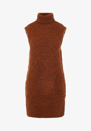 Jumper dress - mocha bisque